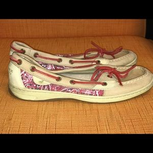 Sperry's Angelfish Top Siders with sequins